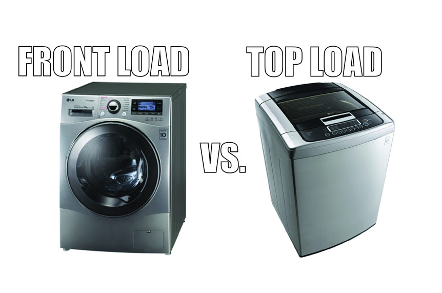 Washing Machines - Top Loader vs Front Loader